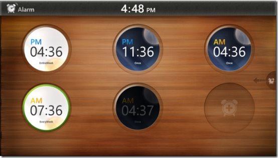 Windows 8 alarm clock apps