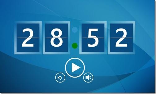 Timer app for Windows 8
