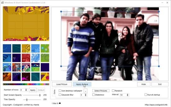 Win8StartScreenCustomizer - Image Selection