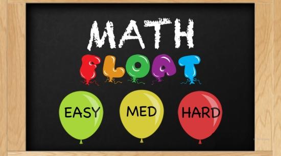 MathFloat- Main Menu