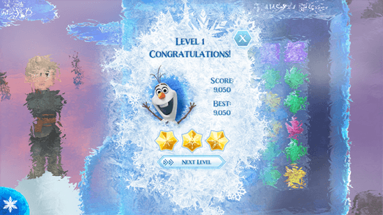 Frozen Free Fall - Rating