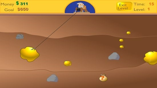 Gold Miner Classic Gameplay