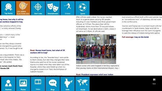 Hindustan Times Control Bars