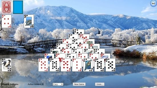Solitaire Collection Pyramid gameplay