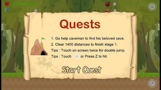 Caveman Adventure Quest