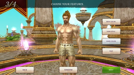 Order & Chaos Online customize character