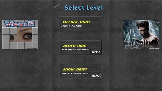 Speed Dodge Select Level