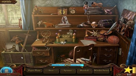 The Hidden Object Show Hidden object level