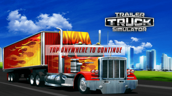 trailer truck simulator