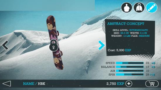 Snowboard Game